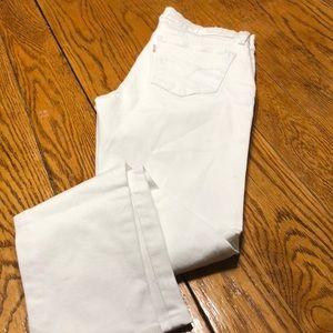 Levi's Super Skinny 710, White, Size 27